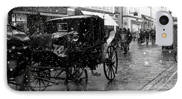 Winter Buggy In Salzburg IPhone Case by John Rizzuto