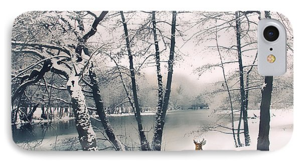 Winter Calls IPhone Case by Jessica Jenney