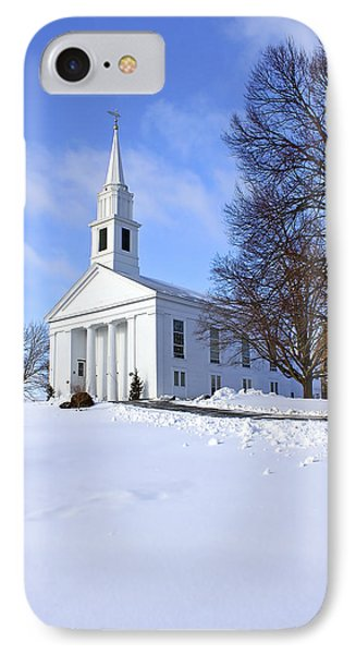 Winter Church Phone Case by Evelina Kremsdorf