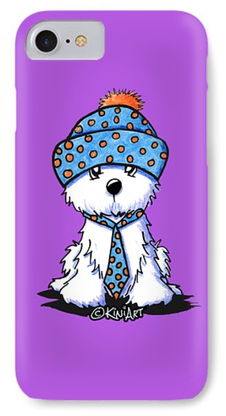 Winter Coton In Co-tones IPhone Case by Kim Niles