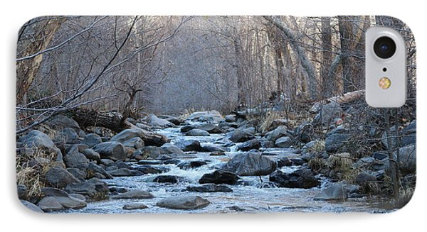 Winter Creek  IPhone Case by Christy Pooschke