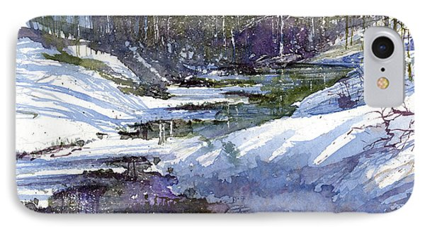 Winter Creekbed Phone Case by Andrew King
