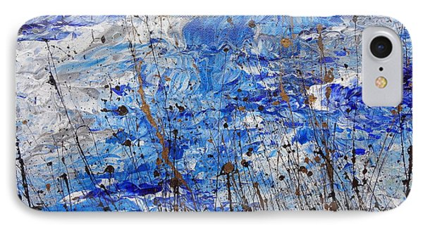IPhone Case featuring the painting Winter Crisp by Jacqueline Athmann