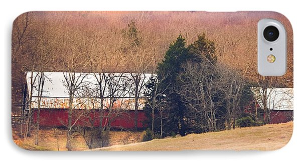 IPhone Case featuring the photograph Winter Day At The Farm by Debbie Karnes