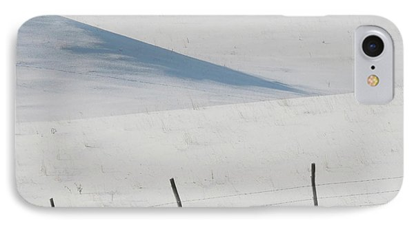 Winter Day On The Prairies Phone Case by Mark Duffy