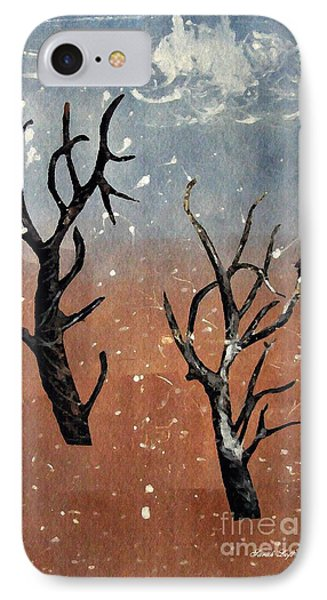 Winter Day IPhone Case by Sarah Loft