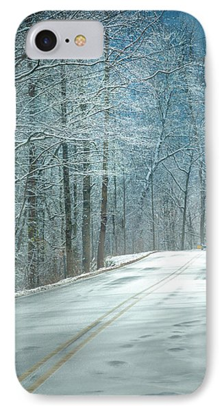 Winter Dreams IPhone Case by Karen Wiles