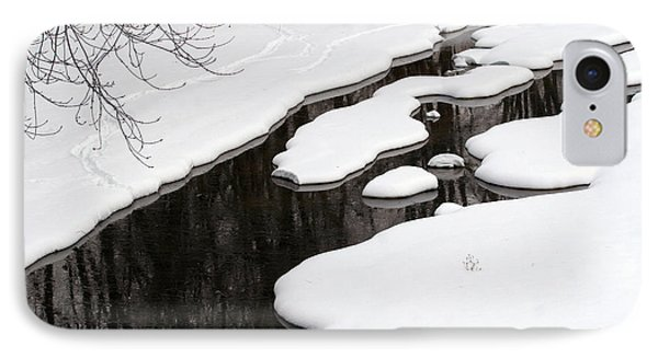 IPhone Case featuring the photograph Winter Dreams by Paula Guttilla