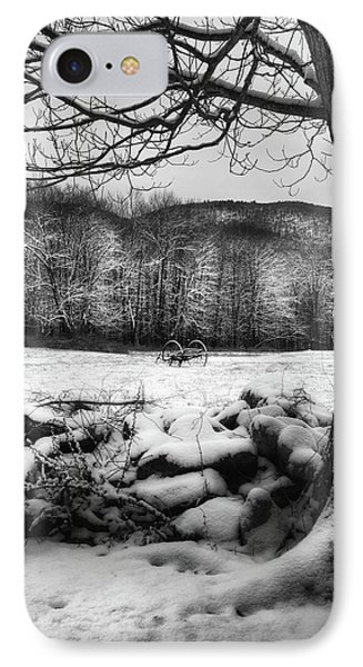 IPhone 7 Case featuring the photograph Winter Dreary by Bill Wakeley