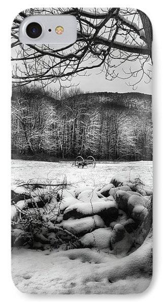 IPhone Case featuring the photograph Winter Dreary by Bill Wakeley