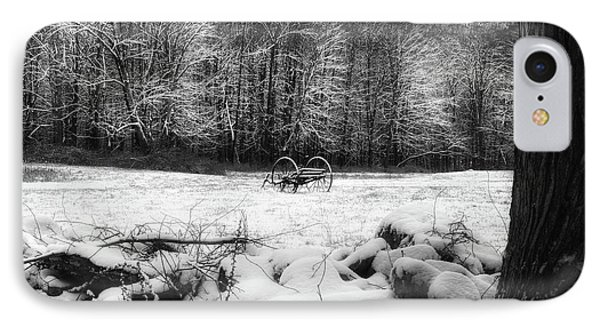 IPhone Case featuring the photograph Winter Dreary Square by Bill Wakeley