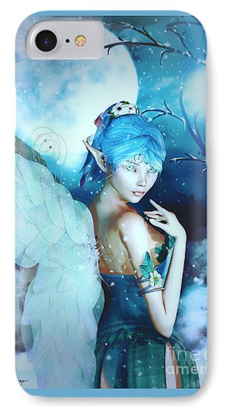 Winter Fairy In The Mist IPhone Case