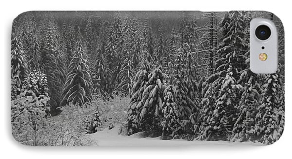 IPhone 7 Case featuring the photograph Winter Fairy Tale by Yulia Kazansky