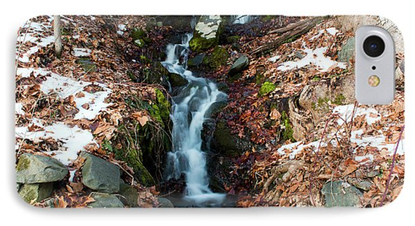 Winter Falls At Franny Reese Phone Case by Jeff Severson