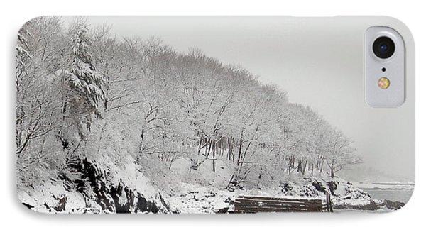 Winter Finery Phone Case by Faith Harron Boudreau