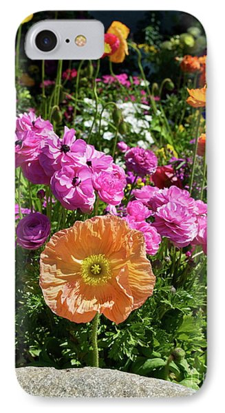 Winter Flowers Phone Case by Gwyn Newcombe