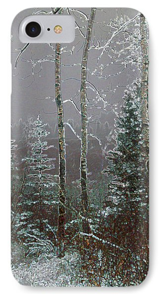 IPhone Case featuring the digital art Winter Fog by Stuart Turnbull