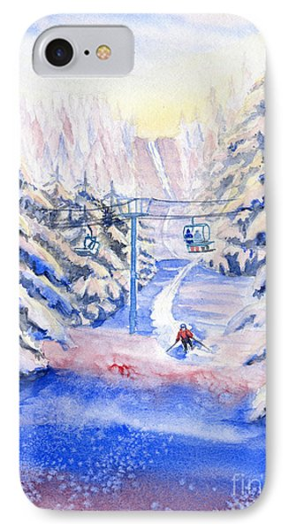 Winter Fun IPhone Case by Melly Terpening