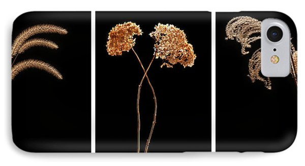 Winter Garden Triptych Phone Case by Steve Gadomski