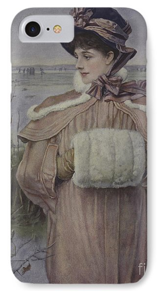 Winter IPhone Case by George Henry Boughton