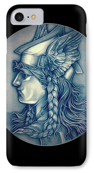 Winter Goddess Of Gaul IPhone Case by Fred Larucci