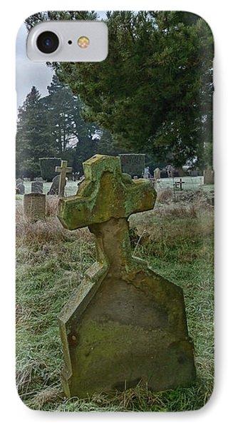Winter Graveyard IPhone Case