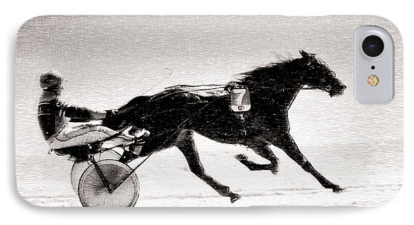 Winter Harness Racing IPhone Case