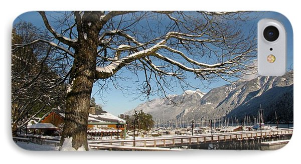 Winter Horseshoe IPhone Case