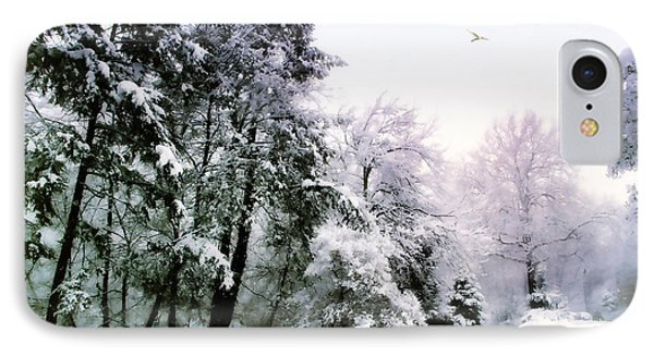 Winter Impressions IPhone Case by Jessica Jenney