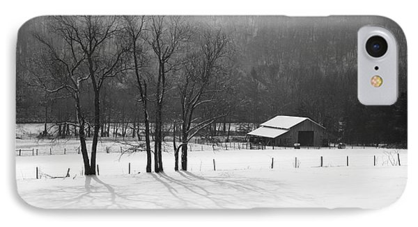 IPhone Case featuring the photograph Winter In Boxley Valley by Michael Dougherty