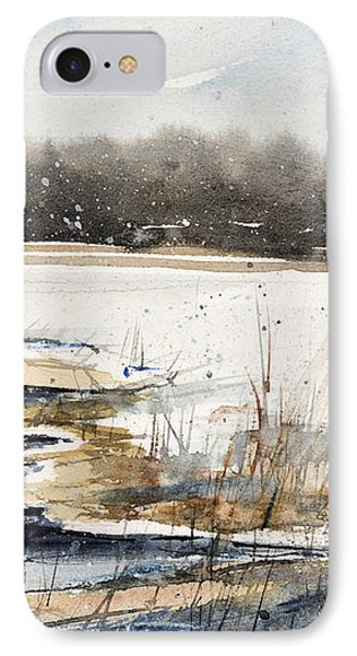 Winter In Caz IPhone Case by Judith Levins