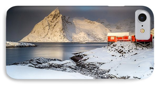 Winter In Lofoten IPhone Case