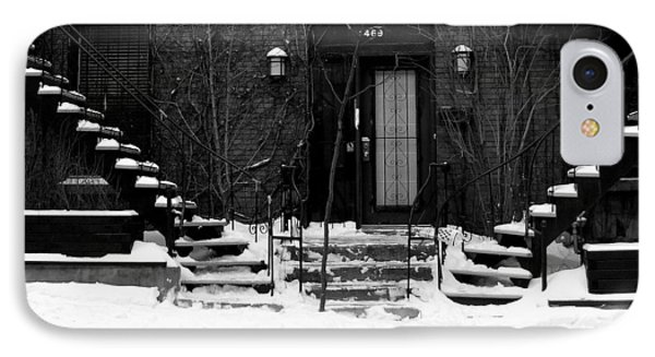 Winter In Montreal IPhone Case by Robert Knight