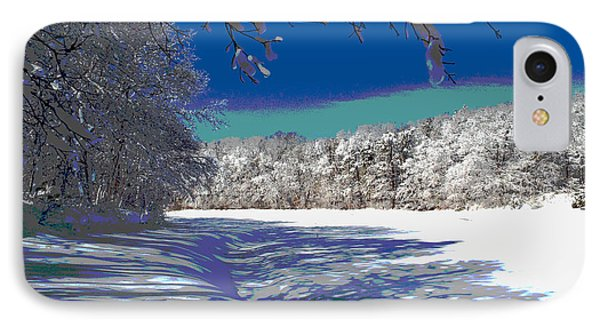 Winter In New England IPhone Case