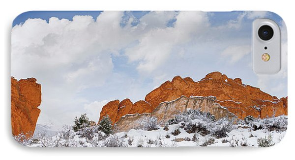 IPhone Case featuring the photograph Winter In Spring by Tim Reaves