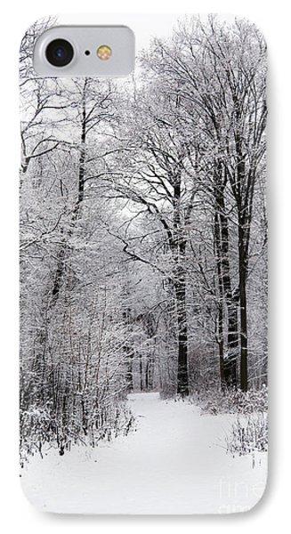 Winter In The Forest Phone Case by Gabriela Insuratelu