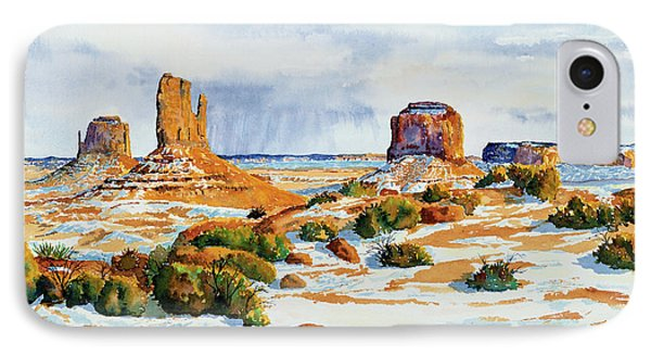 Winter In The Valley IPhone Case by Timithy L Gordon