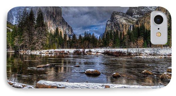 Winter In Yosemite Valley IPhone Case