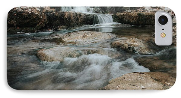 IPhone Case featuring the photograph Winter Inthe Falls by Iris Greenwell