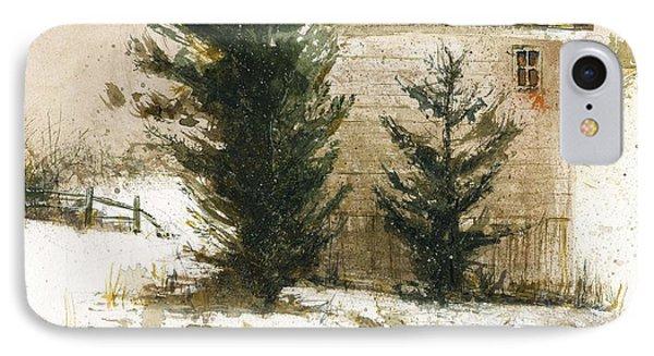 Winter IPhone Case by Kristina Vardazaryan