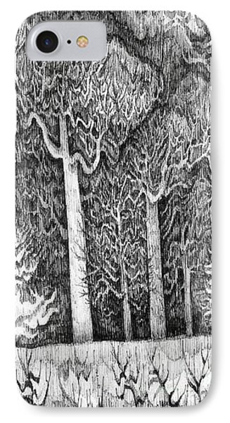 Winter Lace IPhone Case by Anna  Duyunova