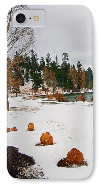 Snowy Lake IPhone Case by Gilbert Artiaga