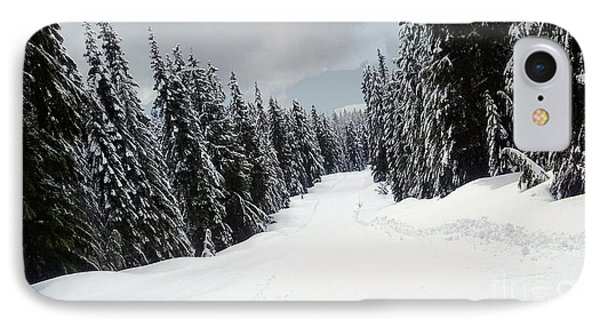IPhone Case featuring the photograph Winter Landscape by Bill Thomson