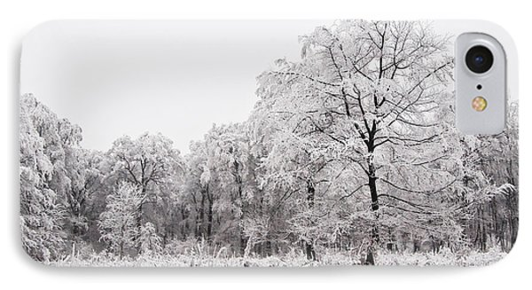 IPhone Case featuring the photograph Winter Landscape by Gabor Pozsgai