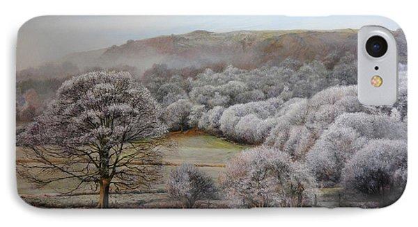 Winter Landscape Phone Case by Harry Robertson
