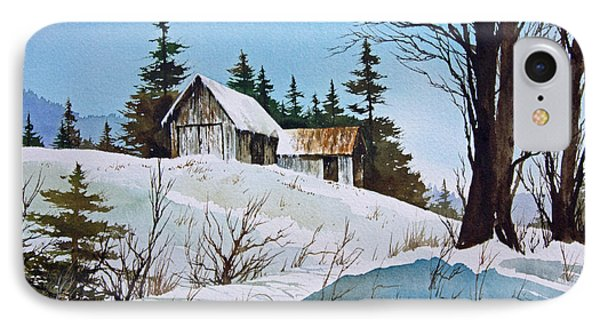 Winter Landscape Phone Case by James Williamson