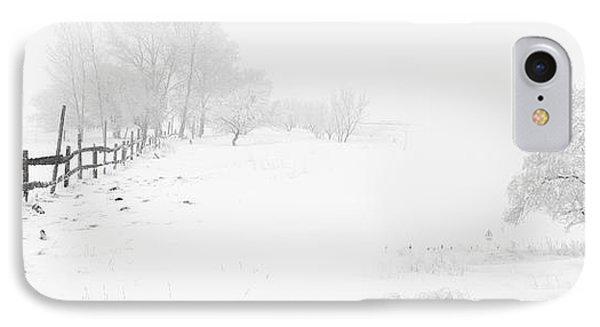 Winter Landscape - Let It Snow IPhone Case