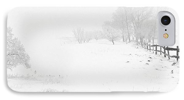 Winter Landscape - Pray For Snow IPhone Case