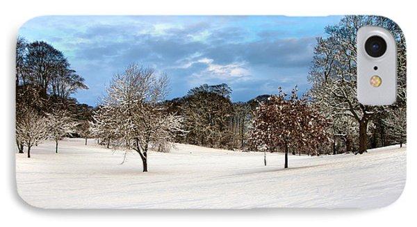 Winter Landscape IPhone Case by Svetlana Sewell