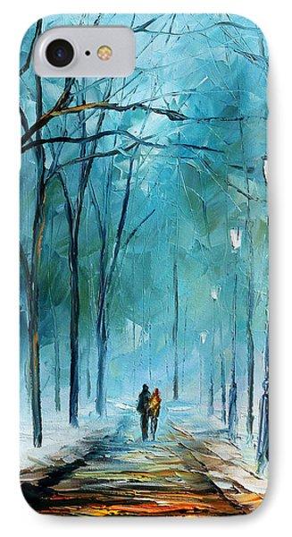 Winter Phone Case by Leonid Afremov